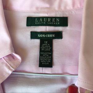 Lauren Ralph Lauren Tops - Quick Look 1X 3/4 Sleeve Button Downs